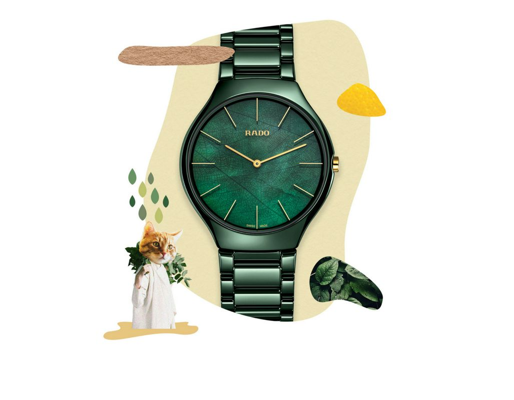 Rado-nature-collection-green-face-green-strap
