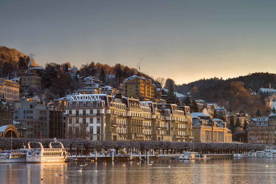 The Centrally Located Grand Hotel National Is An Imposing Structure In Heart Of Lucerne This 5 Star Which Caters To Both Business And Leisure