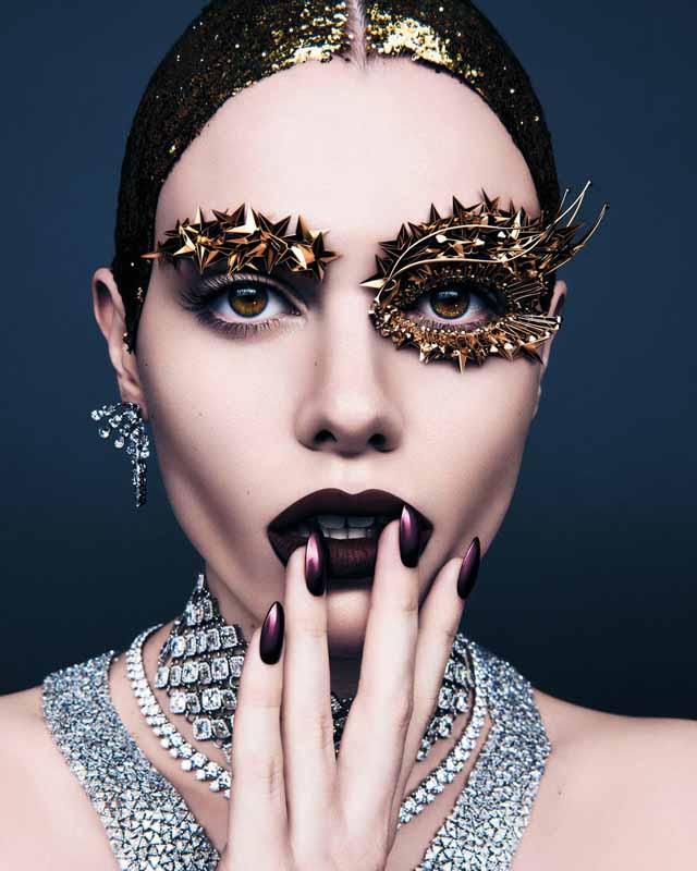 Make up by Pat McGrath