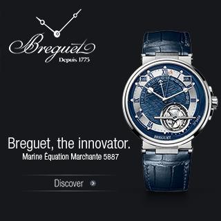 Breguet, the innovator.